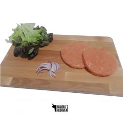 Hamburguesa de pollo casera