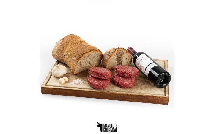 Burguers pan de Cea y vino